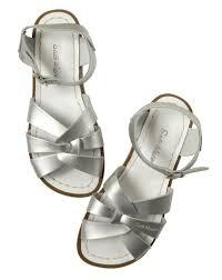 salt water sandals originals silver u2013 cherrie baby boutique