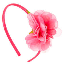 pink headband hot pink flower headband s us