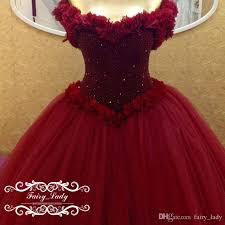 maroon quinceanera dresses bling beading pageant quinceanera dresses for