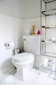 Wood Bathroom Etagere Etagere Glass Shelves Foter