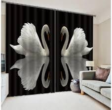Black Blackout Curtains Online Get Cheap Black Window Drapes Aliexpress Com Alibaba Group