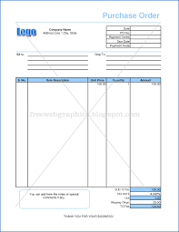 Microsoft Excel Purchase Order Template Templates And Graphics Excel Purchase Order Format