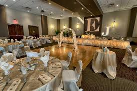 Red And Gold Reception Decoration Austin Weddings Norris Centers