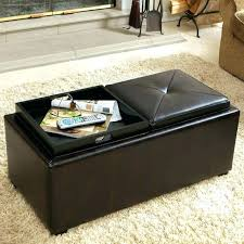 storage ottoman coffee table with trays trays for ottomans ottoman pretty and functional ottomans trays