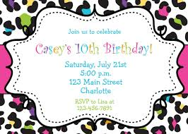 free birthday party invitation templates for you thewhipper com