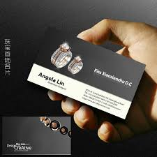jewelry business cards 30 elegantly designed free business card
