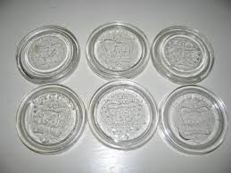 Vintage Glass Canisters Kitchen Canning Vintage Crown Glass Inserts Canning Jar Lids Canada By