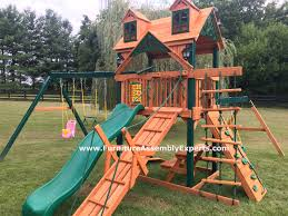 Home Depot Playset Installation Swing Set Assembly And Installation In Fredericksburg Virginia