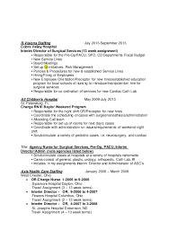 Pacu Resume Resume Update May 2015