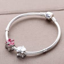 pandora bracelet sterling silver images Moonmory orchid charm 925 sterling silver flower bead fit original jpg