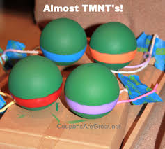 diy mutant turtles ornaments tutorial
