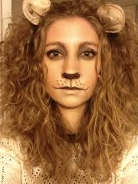 lion makeup pretty cool fancy dress idea costumes pinterest