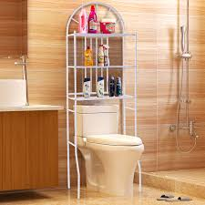 Bathroom Space Saver by 3 Shelf Over The Toilet Bathroom Space Saver Towel Storage Rack