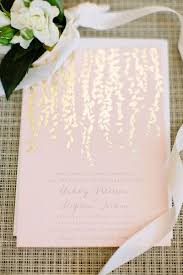pink and gold wedding invitations timeless napa valley winery wedding blush pink gold and lights