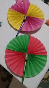 how to make a paper fan how to make paper hand fan origami youtube