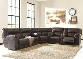 Fabric Sectional Sofa With Recliner by Furniture Comfortable Sectional With Recliner For Living Sofas
