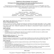 Personal Banker Resume Samples Cover Letter Investment Banker Resume Template Investment Banking