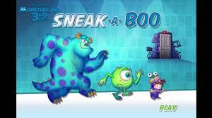 disney pixar monster inc halloween special sneak a boo episode 1
