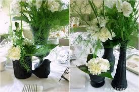 black and white centerpieces black white floral centerpieces bridal shower idea rosyscription