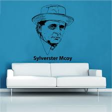 film tv theter decal wall stickers shop home the seventh doctor who sylverster mcoy decal vinyl wall sticker ftt20