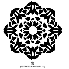 ornamental design clip at vectorportal