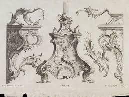 design for rococo ornament habermann franz xaver v a search