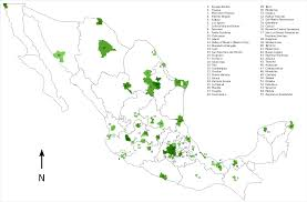 Map Of Oaxaca Mexico Metropolitan Areas Of Mexico Wikiwand