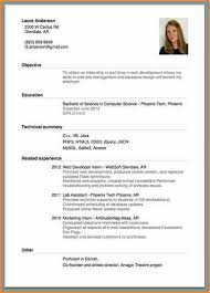 make resume format cashier exle resume format of c v for application cv resume