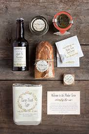 wedding welcome bags contents farm to table wedding welcome basket weddings ideas from evermine