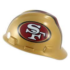 san francisco 49ers v gard hard hat