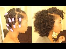 perm rods on medium natural hair youtube gaming