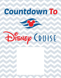 Disney Cruise Floor Plans by Countdown To Disney Cruise Free Printable Cruises Disney Trips