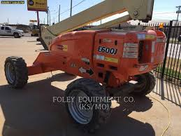2013 jlg e600j boom lift for sale 723 hours topeka ks