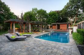Modern Backyard Modern Home Landscape Design In The Front Yard Of Modern House