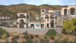 8000 Sq Ft House Plans 100 000 Square Foot Proposed Super Estate In Scottsdale Az