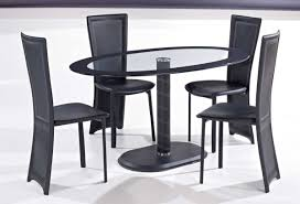 Circular Glass Dining Table And 4 Chairs Chair Black Dining Tables Hygena Round White Table And 4 Glass
