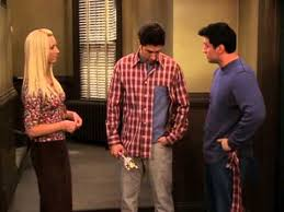 friends tv show ross s reaction to joey tearing his pocket hey