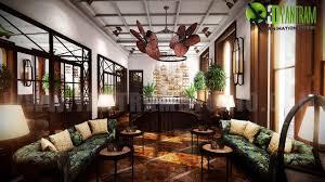3d interior rendering design and animaiton