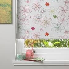 colours flava corded green red u0026 white roller blind l 160 cm w