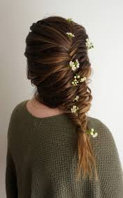 flower for hair flower child hair hairstyles