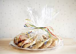cellophane wrap clear platter with 3 dozen cookies in cellophane wrap jd s chippery