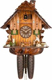Chalet Style Cuckoo Clock 8 Day Movement Chalet Style 30cm By Anton Schneider