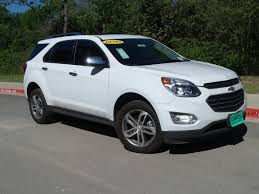 chevy equinox 2017 white new 2017 chevrolet equinox premier sport utility in austin 170032