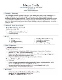 Sample Resume For Caregiver For An Elderly by Caregiver Main Caregiver Resume Overview