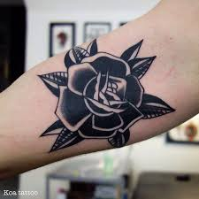 best 25 black flower tattoos ideas on pinterest tattoo ideas