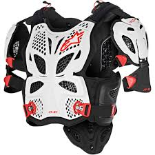 Alpinestars A 10 Chest Protector Roost Deflectors Protection