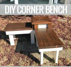 wood corner dining table unfinished wood corner bench default name