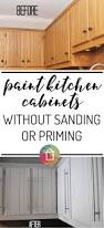 Can I Paint Over Laminate Kitchen Cabinets How To Paint Kitchen Cabinets No Painting Sanding