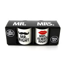 Best Mugs Mr Right And Mrs Always Right