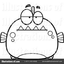 piranha clipart 1138746 illustration by cory thoman
